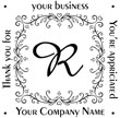 Monogram Name Stamp Style 7
